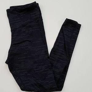 Champion dark blue athletic leggings size L